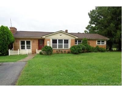 3 Bed 1 Bath Foreclosure Property in Laconia, IN 47135 - E Hwy 11 S East