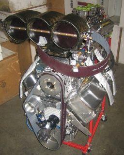 BBC 540CI 1600 HP BLOWN RACE ENGINE