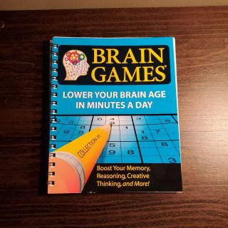 Brain games activity book
