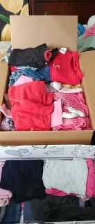 376e9d2ca Large box & half another box mixed girls 18-24 months & 24 month clothes