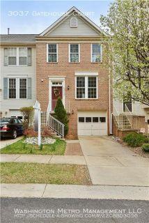 Single-family home Rental - 3037 Gatehouse Court