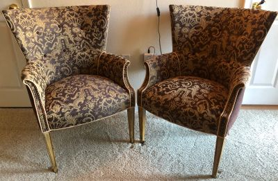 Traditional Arm Chair Pair