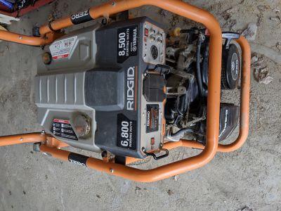 Ridgid generator