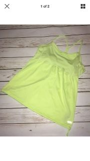 C9 By Champion yellow athletic top, size L
