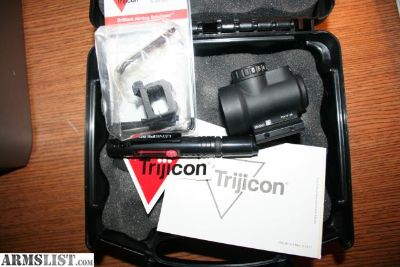 For Sale/Trade: TRIJICON MRO WITH HIGH AND LOW MOUNTS
