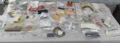 Purchase NOS NEW Genuine Cessna Piper Aztec Aircraft Parts Lot Grabbag motorcycle in Richmond, Kentucky, US, for US $79.99