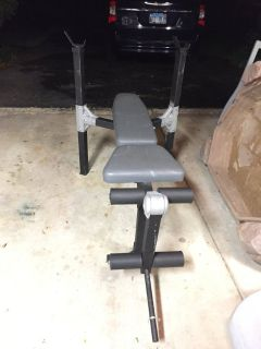 Weight Bench - No weights included