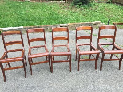 Mid 1800s chairs
