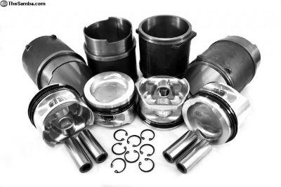 94MM 2100CC Vanagon Wasserboxer Pistons Cylinders