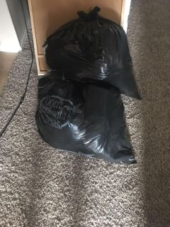 2 bags of men s clothing