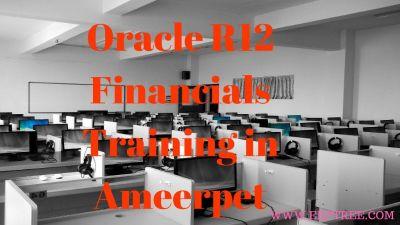 Oracle R12 Financials Training in Ameerpet