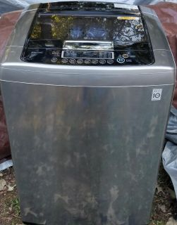 LG FRONT CONTROL TOP LOAD WASHER