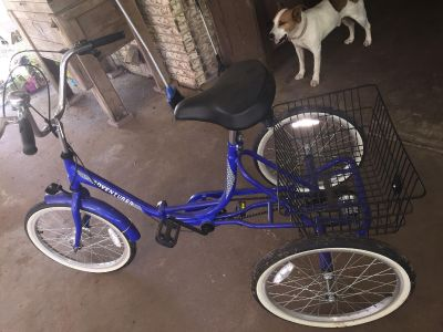 Adult Tricycle only used ONE TIME