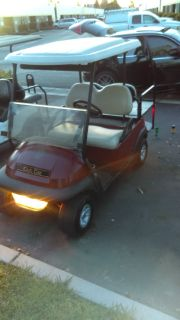 2007 precedent club car golf cart 48 v 4 seater with one year old batts