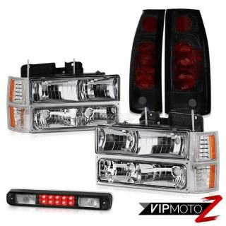 Find 1994-1998 Chevy C3500 3RD Brake Lamp Taillamps Chrome Parking Lights Headlamps motorcycle in Walnut, California, United States, for US $218.89