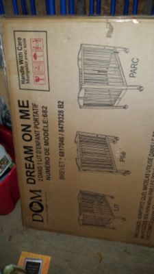 BRAND NEW IN BOX Dream on me portable baby crib