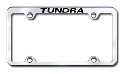 Purchase Toyota Tundra Wide Body Engraved Chrome Truck License Plate Frame Made in USA motorcycle in San Tan Valley, Arizona, US, for US $31.17