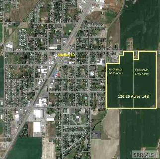 863 E 1300 N Shelley, Over 125 acres in the city limits!