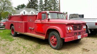 1964 Dodge D600 Fire Truck
