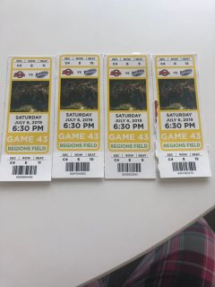 4 Sat night Barons Tickets - free