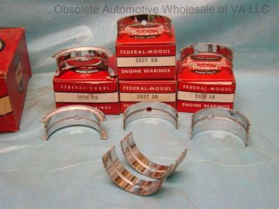 Sell 1955-1960 Studebaker 170 185 Hawk Champion Scotsman Truck Main Bearing Set STD motorcycle in Vinton, Virginia, United States, for US $180.00