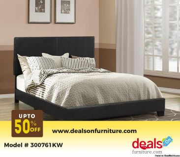 Dorian California King Upholstered Bed 300761KW