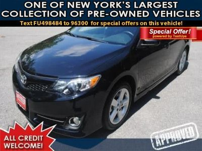 2015 Toyota Camry SE 4dr Sdn I4 Auto SE (Black)