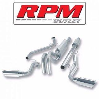 Find BORLA S-TYPE CAT BACK EXHAUST 140275 FOR 2006-2008 DODGE RAM 1500 5.7L V8 HEMI motorcycle in Gilbert, Arizona, United States, for US $946.99