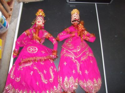 Kathputli Doll Pair
