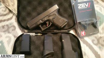 For Sale: Glock 26 Gen 4 w/ Zev Trigger