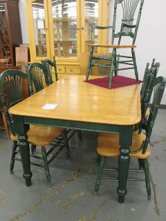 Canadel Farmhouse Dining Set, 8 Chairs