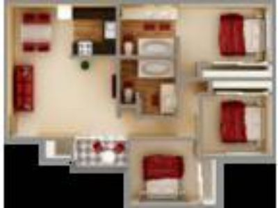 Crown Point Apartments - Three BR