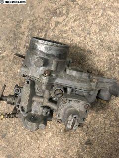 Weber 34 ICT Carburetor for Parts