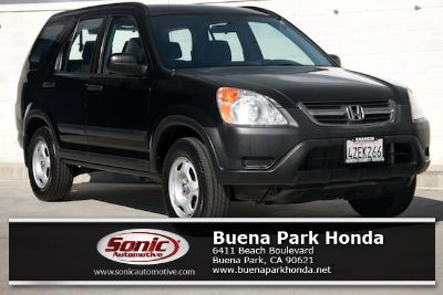 2002 Honda CR-V LX (Nighthawk Black Pearl)