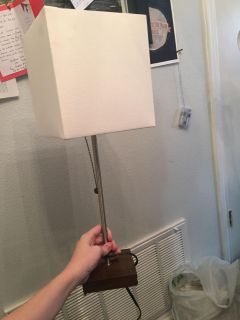 Brand new desk lamp and bulb