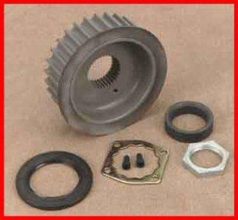Find BDL 32-TOOTH TRANSMISSION TRANS BELT PULLEY 1985-2005 HARLEY TP-32 BIG TWIN motorcycle in Zieglerville, Pennsylvania, US, for US $109.90