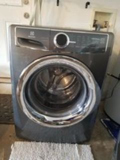 Electrolux perfect steam washer/dryer set