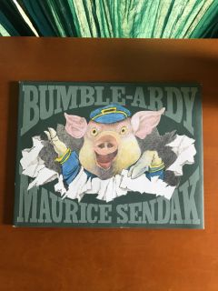 Bumble-Ardy Hardcover Book