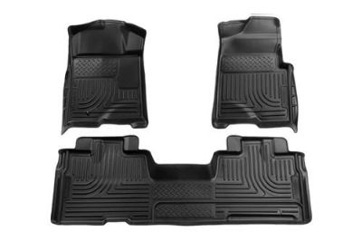 Find Husky Liners 98341 09-13 Ford F-150 Black Custom Floor Mats 1st, 2nd Row motorcycle in Winfield, Kansas, US, for US $170.95