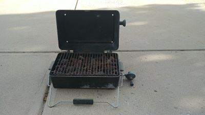 Propane portable camping grill