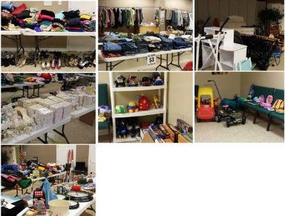Huge Church Wide Indoor Garage Sale (35603 Coxe Ave, Denham Springs, LA)
