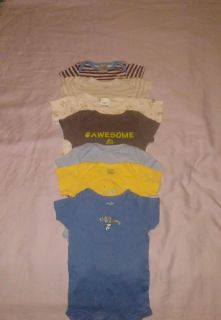 :: (7) size 3/6 months onesies mostly Gerber brand BUNDLE DISCOUNT IF PURCHASE $25-$4