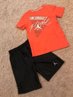 Nike Jordan Shirt and Shorts, Excellent Condition, Sz. Small