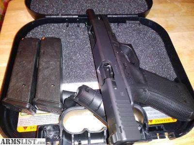 For Sale: Glock 34 with dawson sights, gen 4