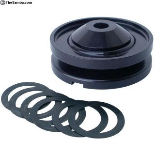 cb performance billet alternator pulley with nut