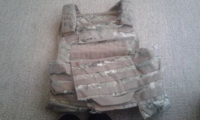 Tactical Tailor releasable armor carrier.