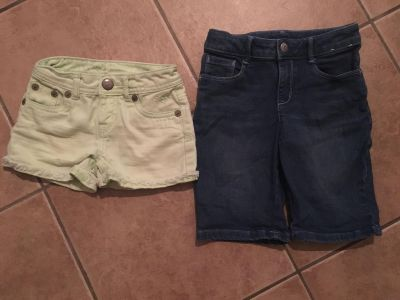 Justice and Gymboree Shorts Sz 7