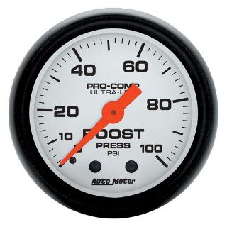 "Find Auto Meter 5706 Phantom 2 1/16"" Mechanical Boost Gauge 0-100 PSI motorcycle in Greenville, Wisconsin, US, for US $76.97"