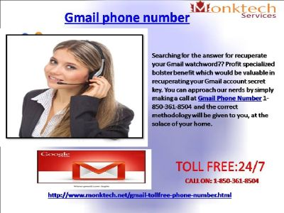 Call Gmail Phone Number to Experience Our Excellence and Professionalism 1-850-361-8504