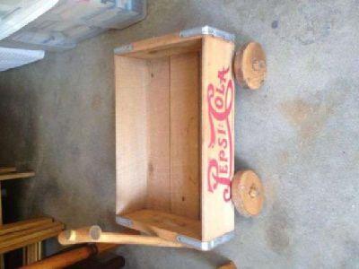 $25 Vintage Pepsi Small Wood Wagon (Cranston, RI)